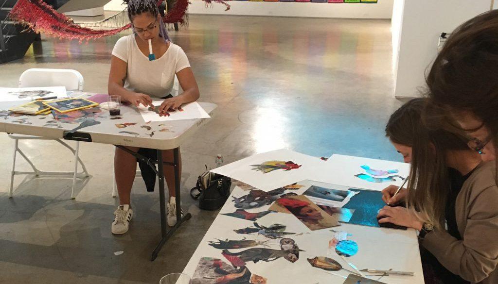 Workshop at San Diego Art Institute